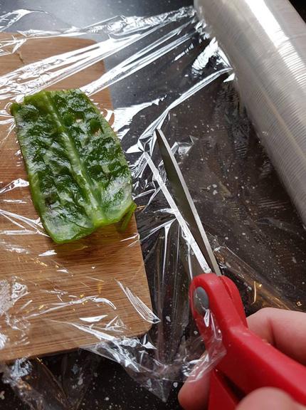 Przygotowanie liścia żyworódki